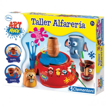 TALLER ALFARERIA ART ATTACK