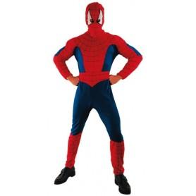 DISFRAZ SPIDER HEROE ADULTO