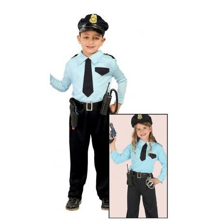 DISFRAZ POLICIA 7-9 AÑOS