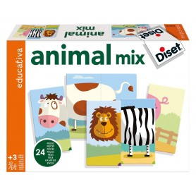 ANIMALS MIX  - Diset Educativa