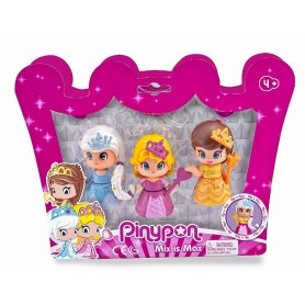 PINYPON - PACK 3 PRINCESAS