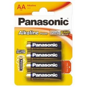 BLISTER 4 PILAS PANASONIC LR06 / AA ALCALINA