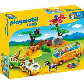 1.2.3 GRAN SAFARI AFRICANO PLAYMOBIL 5047