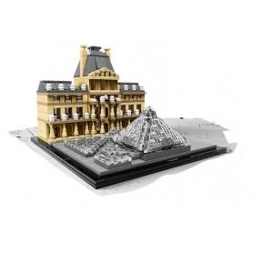 LOUVRE ARCHITECTURE LEGO 21024