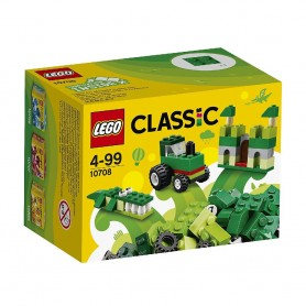CAJA CREATIVA VERDE 10708 LEGO