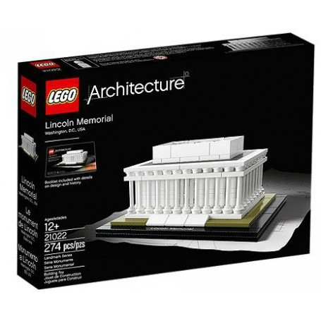LINCOLN MEMORIAL - LEGO ARCHITECTURE 21022