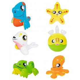 ANIMALITOS HINCHABLES DE BAÑO