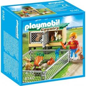 CONEJERAS PLAYMOBIL 6140
