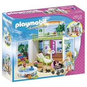 COFRE BUNGALOW EN LA PLAYA PLAYMOBIL 6159