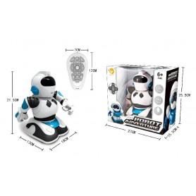 ROBOT R/C 25 CM - MUSICA Y LUCES
