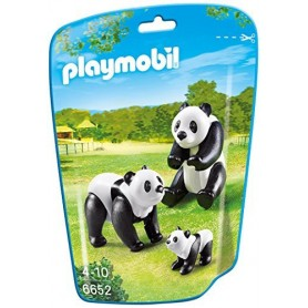 FAMILIA DE PANDAS PLAYMOBIL 6652