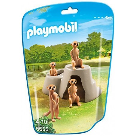 SURICATES PLAYMOBIL 6655