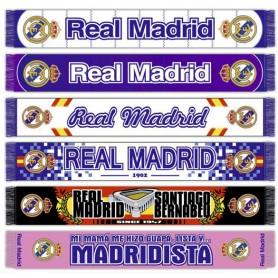 BUFANDA REAL MADRID (surtido: modelos aleatorios)