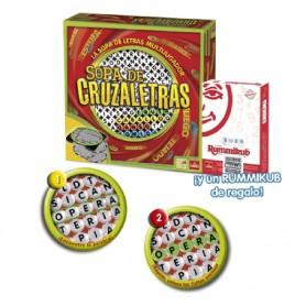 JUEGO SOPA DE CRUZALETRAS + RUMMIKUB GRATIS