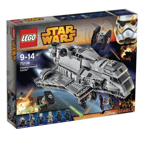 IMPERIAL ASSAULT CARRIER LEGO STARWARS 75106