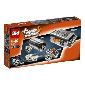 SET DE MOTORES POWER FUNCTIONS LEGO 8293