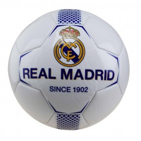 REAL MADRID BALON N1 GRANDE BLANCO-AZUL