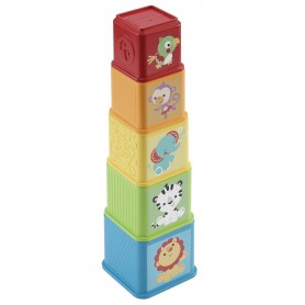 BLOQUES APILA Y DESCUBRE - FISHER PRICE