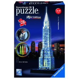CHRYSLER BUILDING NIGHT EDITION - PUZZLE 3D