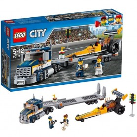 TRANSPORTE DEL DRAGSTER 60151 LEGO CITY
