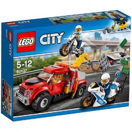 CAMIÓN GRÚA EN PROBLEMAS 60137 LEGO CITY