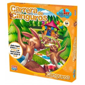 MI PRIMER JUEGO MESA CARRERA DE CANGUROS