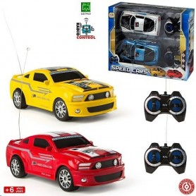 SPEED CARS - SET 2 COCHES RADIO CONTROL