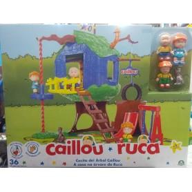 CAILLOU - LA CASA DEL ÁRBOL