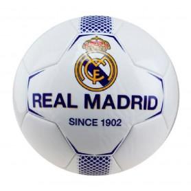 REAL MADRID BALON N1 MEDIANO BLANCO-AZUL TALLA 2