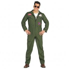 DISFRAZ PILOTO CAZA AVIADOR PEARL HARBOR TOP GUN T.L