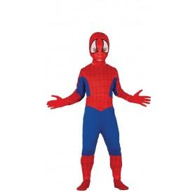 DISFRAZ SPIDER BOY 3-4 AÑOS