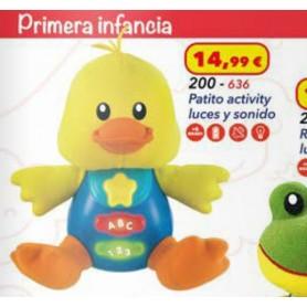 PATITO ACTIVITY LUCES Y SONIDOS