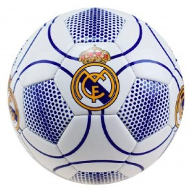 REAL MADRID BALON GRANDE BLANCO-AZUL