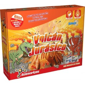 VOLCAN JURASICO - SCIENCE4YOU