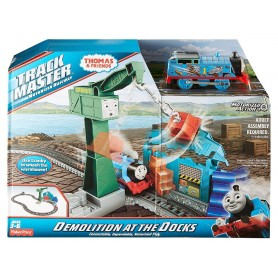 DERRIBO EN EL MUELLE - THOMAS & FRIENDS