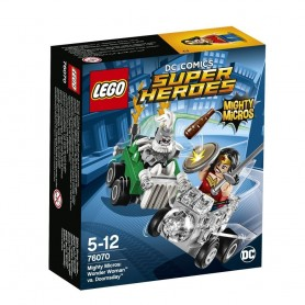 MIGHTY MICROS: WONDER WOMAN VS DOOMSDAY 76070 LEGO