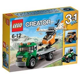 TRANSPORTE DE HELICOPTERO 31043 LEGO CREATOR