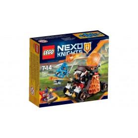 CATAPULTA DEL CAOS 70311  LEGO NEXO KNIGHTS