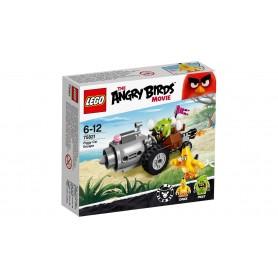 ANGRY BIRDS FUGA EN EL COCHE DE LOS CERDOS LEGO 75821