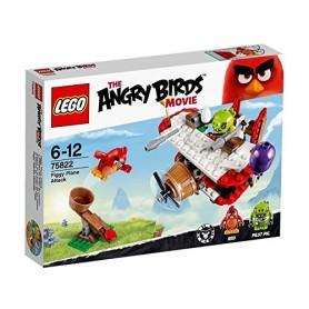 ANGRY BIRDS ATAQUE EN EL AVION DE LOS CERDOS LEGO 75822