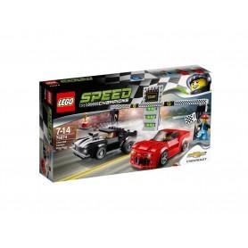 CHEVROLET CAMARO DRAG RACE 75874  LEGO SPEED CHAMPIONS