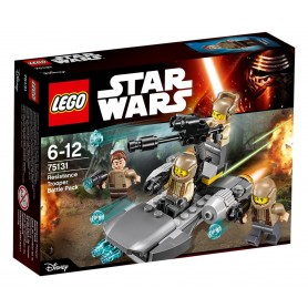 RESISTANCE TROOPER BATTLE PACK 75131 LEGO STAR WARS
