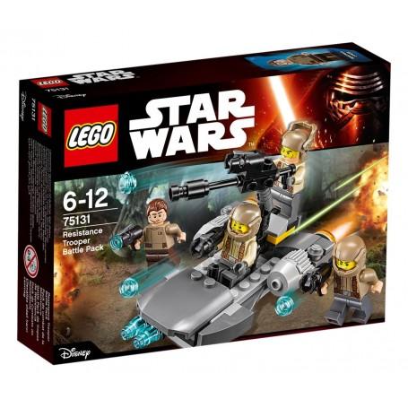 RESISTANCE TROOPER BATTLE PACK 75131 LEGO STAR WARS