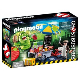 SLIMER CON STAND DE HOT DOG PLAYMOBIL 9222
