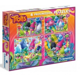 PUZZLE TROLLS 20+60+100+180