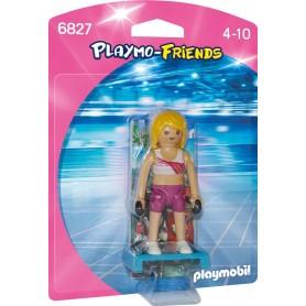 PROFESORA DE FITNESS PLAYMOBIL 6827