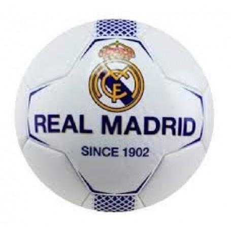 REAL MADRID BALON N1 MEDIANO BLANCO-AZUL TALLA 0
