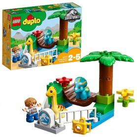 LEGO DUPLO JURASSIC WORLD MINIZOO - GIGANTES MANSOS 10879