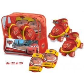 SET PATINES + PROTECCIONES CARS 3