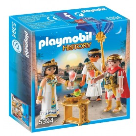 CÉSAR Y CLEOPATRA PLAYMOBIL 5394